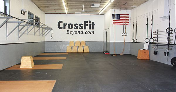 Crossfit Gym Someday I Would Like To Work Up To Owning A