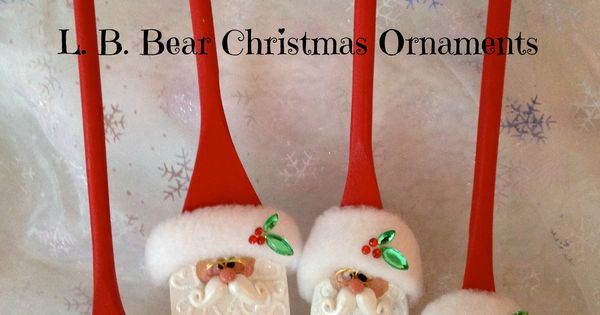 l b bear christmas ornaments
