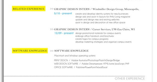 Resume Font The Right Resume Fonts Will Make A Difference Resume By Stephanie Hager Via Behance Resume