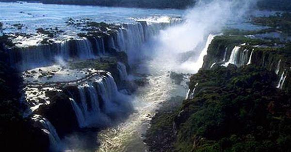 Iguazu Falls Brazil Wallpaper Inga Falls Congo River Democratic Republic Of The Congo