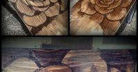 Wood Stain Wall Art :) totally having this when I build my ...