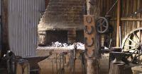 Blacksmiths furnace & tools | Old World | Pinterest ...
