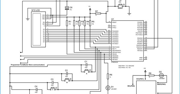 electronic voting machine circuit diagram