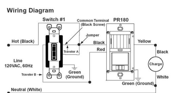 water sensor switch wiring diagram