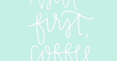 FREE but first, coffee wallpaper from Chalkfulloflove - D E S I G N | Pinterest - Iphone ...