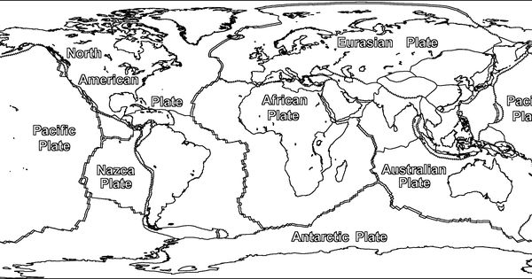 Free coloring page september 2015 for Plate tectonics coloring pages