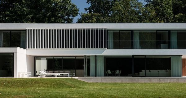 Arx Architecten Hs Residence By Cubyc Architects - Casas De Sonho