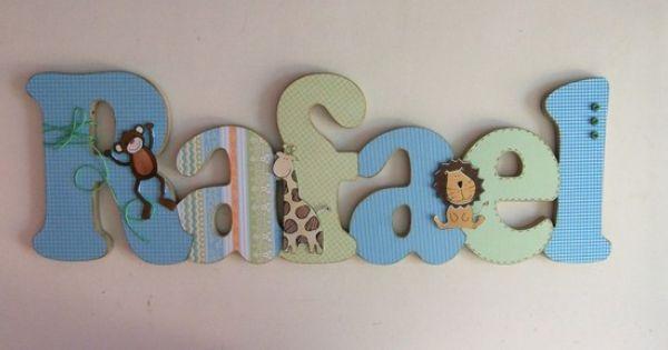 Wallpaper Ideas For Baby Girl Nursery Nome Mdf E Scrap Rafael Scrap Letter Designs And Decoupage