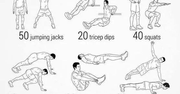 full body circuit workout health wellness pinterest