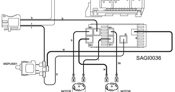 wiring diagram for 2 car amps