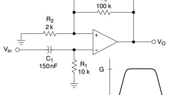 high pass filter circuit rumble filter
