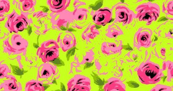 Lilly Iphone Wallpaper Betsey Johnson Pattern Wallpaper Patterns Pinterest