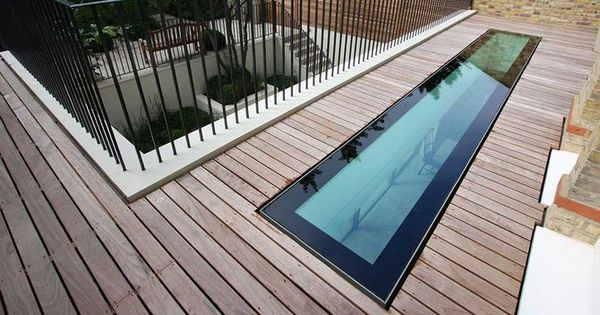 Pool Deck Terrasse Walkable Roof Light - Google Search | Architectural Detail