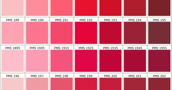 Pantone charts red buscar con google red delicious