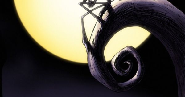 King Of The Hill Iphone Wallpaper Jack Sitting On Spiral Hill Nightmare Before Christmas