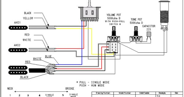 guitar wiring schematics acoustic e
