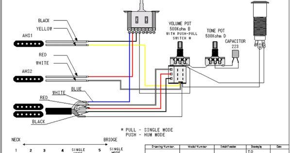 guitar wiring schematics acoustic e