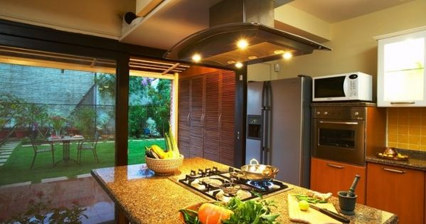 Kitchen island with hob kitchen designs pinterest