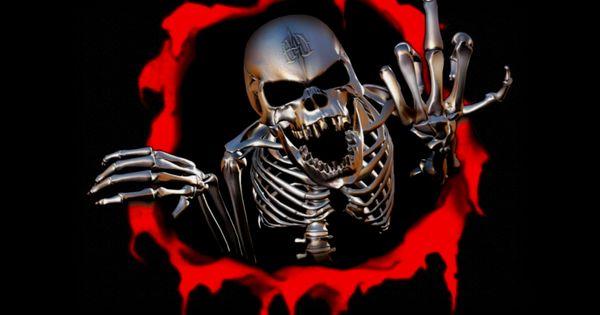 Oakland Raiders 3d Wallpaper Flaming Skull Pictures Skull Wallpapers Tattoo Pictures