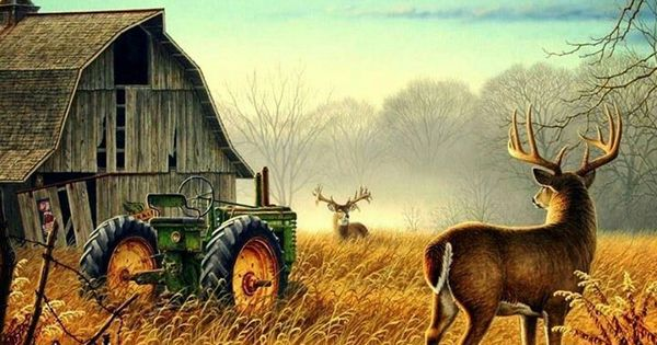 Fall Farm Desktop Wallpaper Old Farm Scene Farm Living Pinterest Farming Scene
