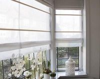 How to make double layered roman blinds - Vouwgordijnen ...