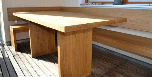 Eckbank Eiche Massiv Modern Im Stil Vom Holz Sigi Aus