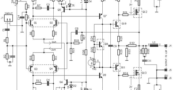 65w hexfet power amplifier