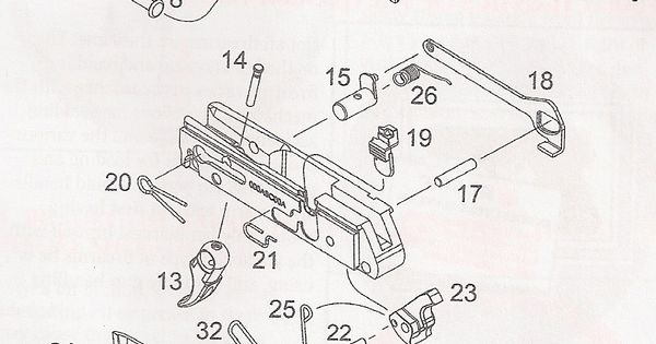 ruger 10 22 diagram parts