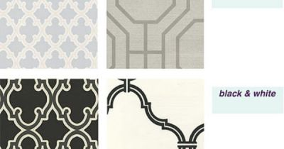 Sherwin Williams removable/temporary wallpaper (black is SW-82362940). Great idea!!!!   home ...
