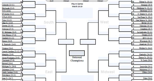 online tournament bracket