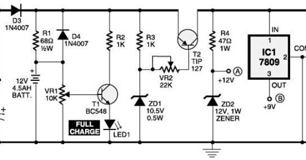 circuit diagram of mini ups