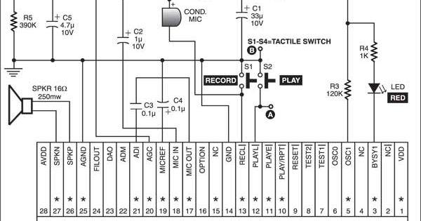 voice transmitter diagram