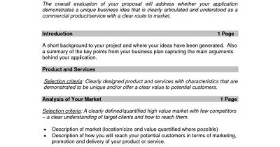 Business Proposal Templates Examples | business proposal sample small | Informal proposal ...