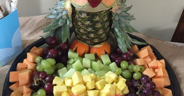 Woodland Themed Baby Shower Owl Fruit Tray Woodland