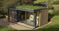 Green Roof Pod | Shipping Container Ideas | Pinterest ...