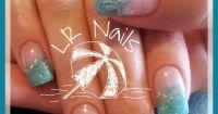 Tropical vacation nails | Nails I've Done | Pinterest ...