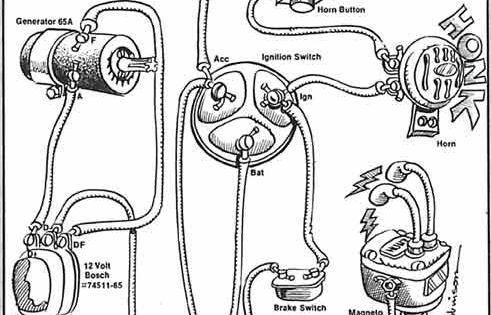 1972 sportster starter schematic