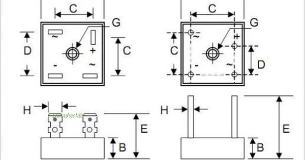 diode bridge wiring diagram