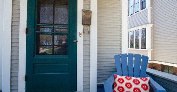 Front Door Design Traditional Sherwin Williams Blue Peacock | Front Door Ideas | Pinterest