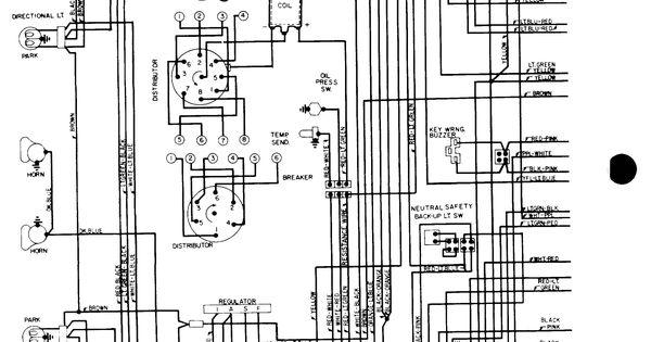 1969 mach 1 bedradings schema