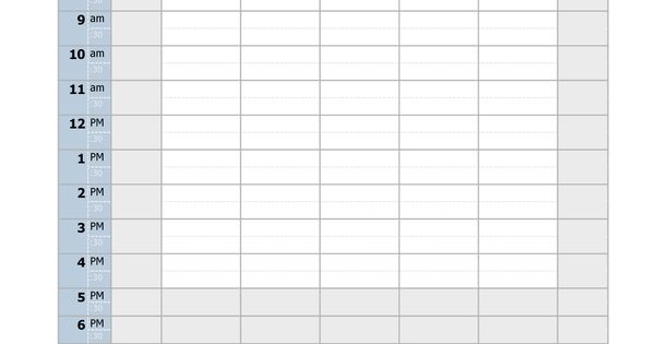 blank template for vbs schedule - 28 images - free summer schedule - blank roster