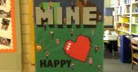 Minecraft door decoration | Bulletin Boards and Doors ...