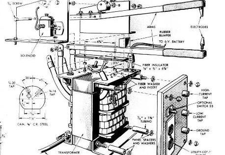 homemade spot welding diagram