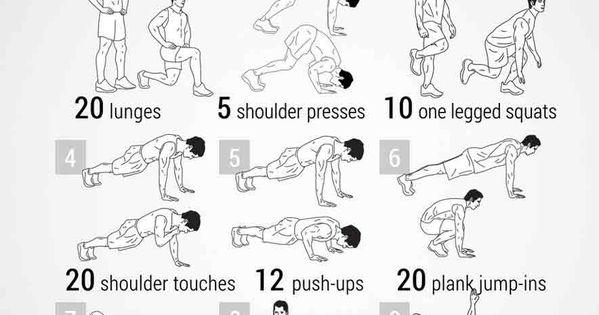 plank circuit workout poster popsugar fitness