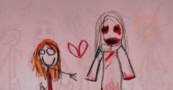 Charming Anime Flower Girl Wallpaper What These 20 Kids Drew Will Seriously Haunt My Dreams For