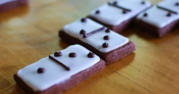 Milk Decoration Pinterest Chocolate Domino Cookies. Perfect For A Mexican Train