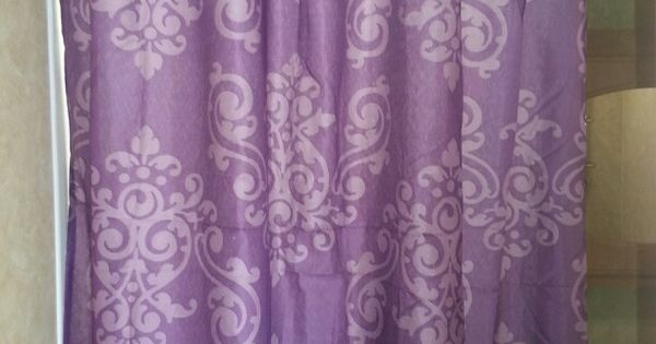 Purple Animal Print Wallpaper 6 Shower Curtain From Family Dollar And It S Purple