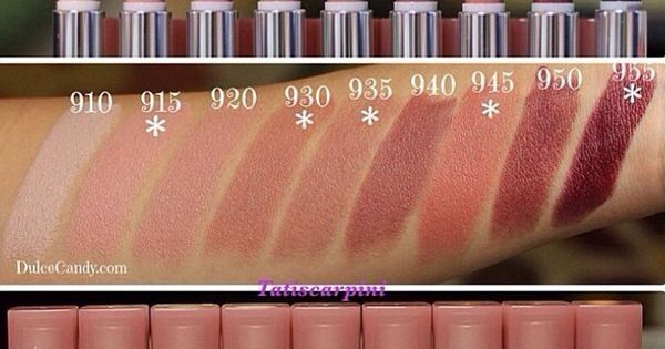 Color Lipstick For Olive Skin The Maybelline Color Sensational Buff Collection Swatches
