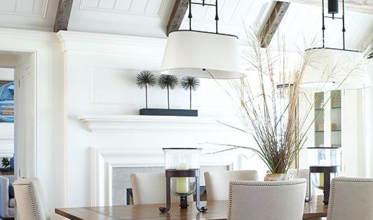 Nice ceiling detail. Coffered Ceiling