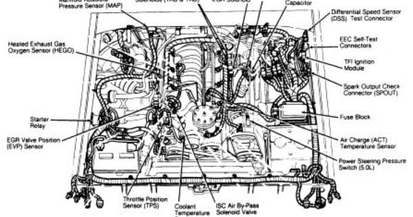 4 9 ford engine diagram